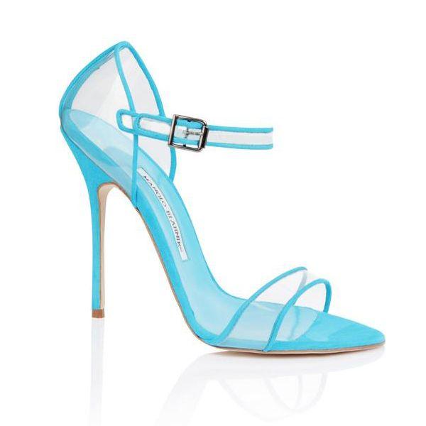 Manolo Blahnik #turquoise #heels