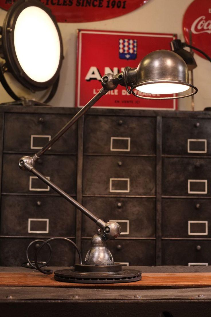 94 migliori immagini industrial lamp su pinterest - Lampes jielde anciennes ...