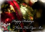 VIDEO! Merriest Party Tradition Continues at World Famous Cigar Bar....and they are Open Christmas NIGHT!!