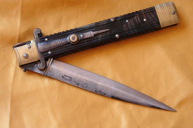 Molise knife Lelle Floris cm 35 mouflon - Coltelli a Serramanico - Coltelli