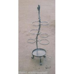 Wrought Iron Umbrella Stand. Customize Realizations. 1020
