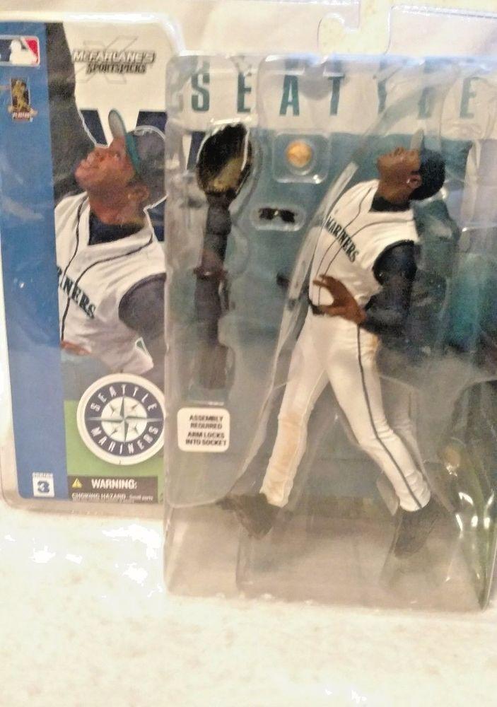 McFarlane's Sports Picks Seattle Mariners Series 3 Baseball Ken Griffey Jr #McFarlaneToys