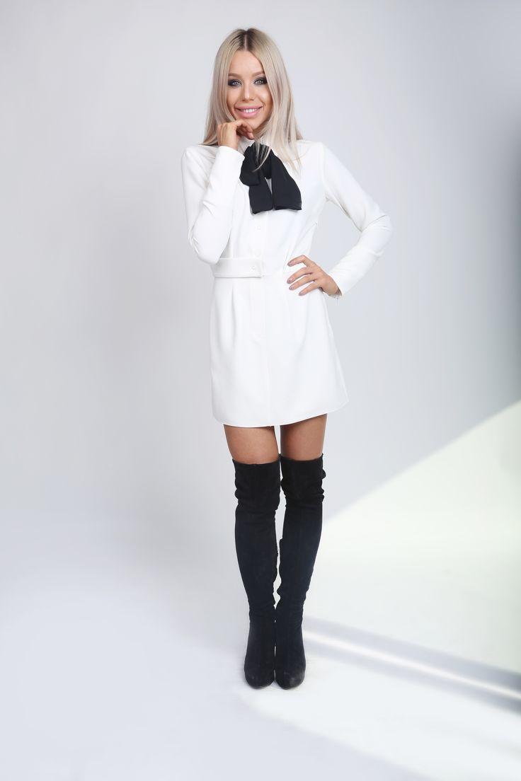 Little White Dress! http://www.noire.ro/categorie-produs/rochii/page/2/