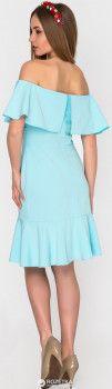 Плаття SK House 2211-2258 XS Блакитне