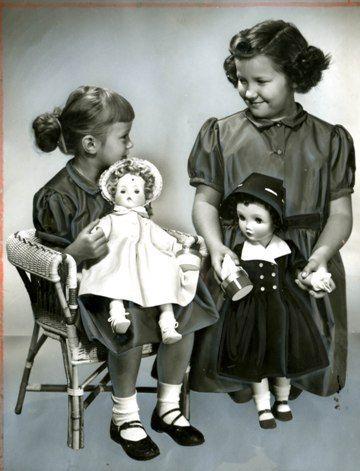 "Madame Alexander | Madame Alexander's ""Rosebud"" and ""Winnie Walker"", $17.95"