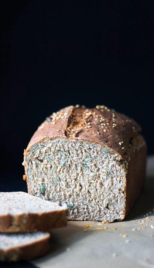 A great spelt flour loaf recips