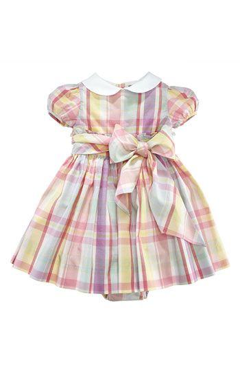 Ralph Lauren Plaid Dress (Infant)