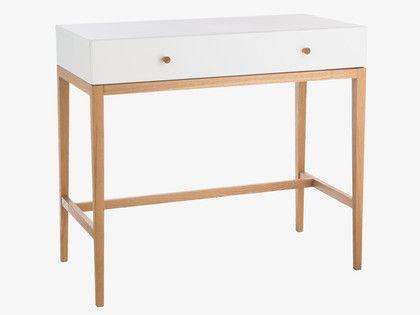 TATSUMA WHITES Wood White dressing table - HabitatUK