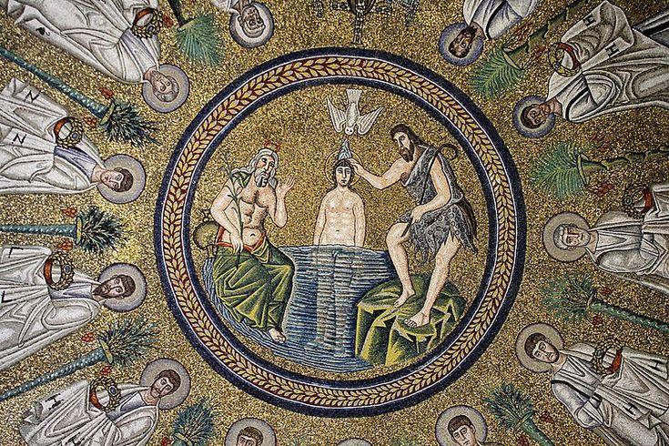 File:Baptism of Christ - Arian Baptistry - Ravenna 2016.jpg