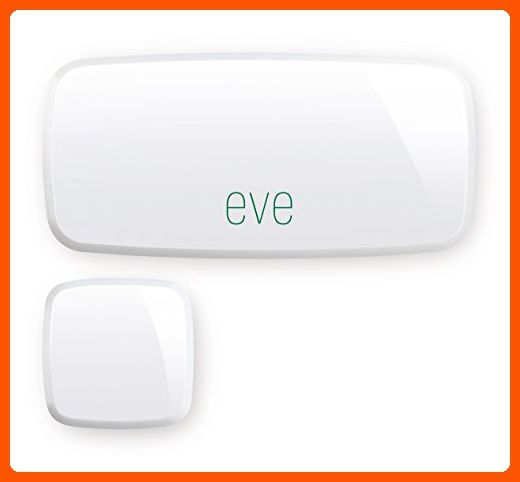 Elgato Eve Door & Window (1st Generation) - Wireless Contact Sensor with Apple HomeKit technology, Bluetooth Low Energy - Home smart home (*Amazon Partner-Link)