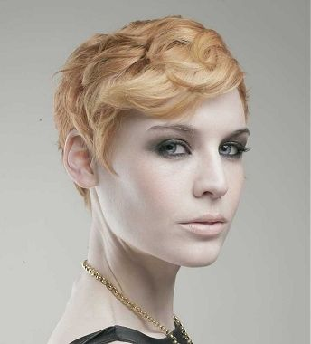 Finger Wave Hairstyles For Short Hair Keep handling all the strands ...