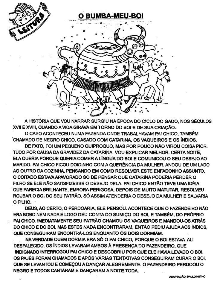 ESPAÇO EDUCAR: 100 Atividades de Folclore interpretação de texto, lendas, fábulas para imprimir!