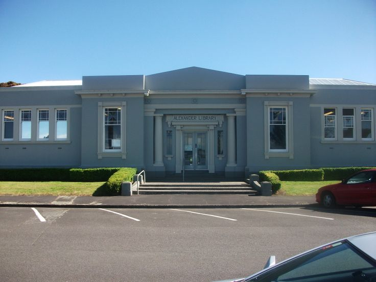 Whanganui's second library, The Alexander Library was opened on 28 June 1933, funded in most part by the generous gift of Miss E Alexander in memory of her late father Mr James Alexander. The Alexander library showcases the extensive Heritage collections (of increasing national significance), and to provide heritage information and research services. A lovely library, I have used this wonderful library for research the staff are amazing :):):).