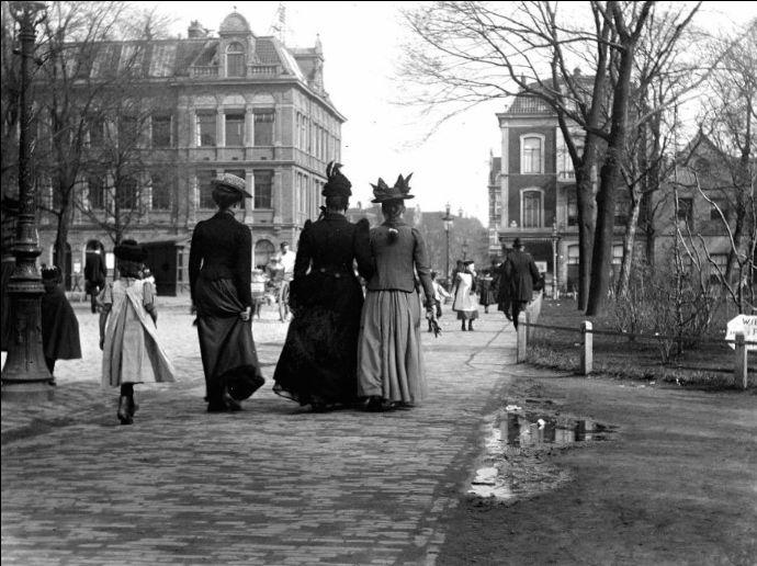 2e Weteringplantsoen Amsterdam (jaartal: 1900 tot 1910) - Foto's SERC