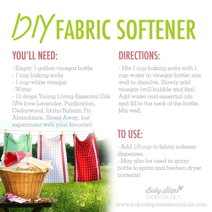 Young Living Essential Oils: Fabric Softener | For more info, visit: http://www.thesavvyoiler.com