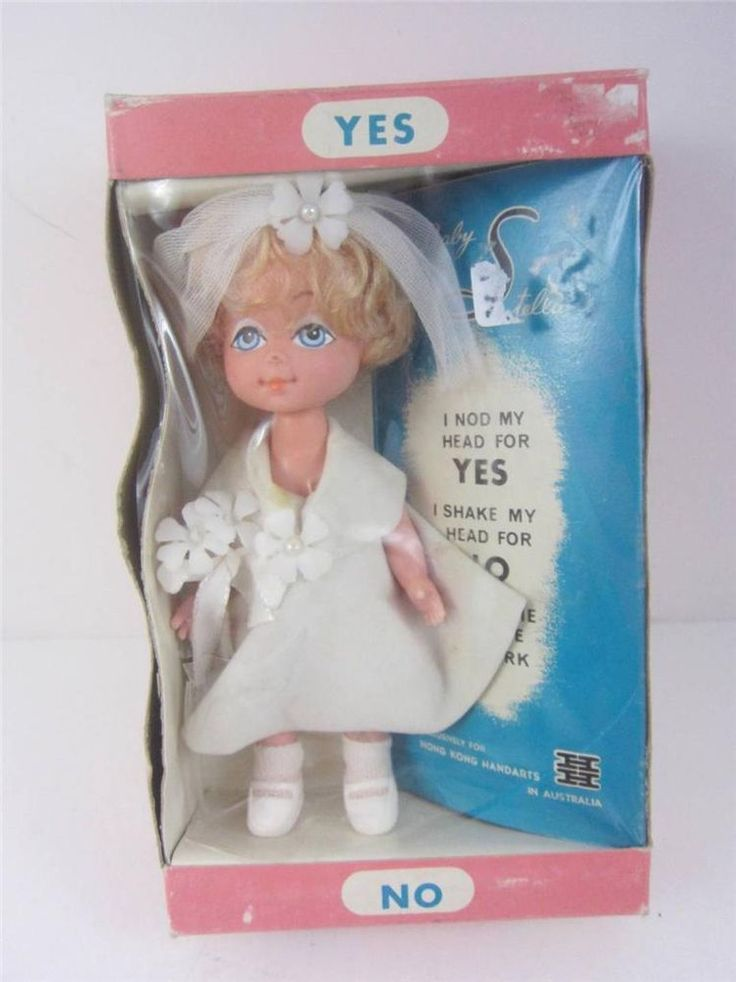 Lovee Doll Amp Toy Co : Vintage baby stella quot yes no doll hong kong handarts
