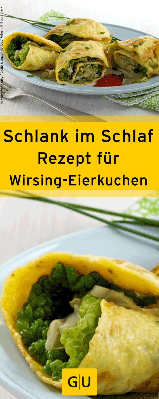 """Schlank im Schlaf: Schnelles Rezept für eine Wirsing-Eierkuchen-Rolle aus dem Buch """"Schlank im Schlaf vegetarisch"""".⎜GU"""