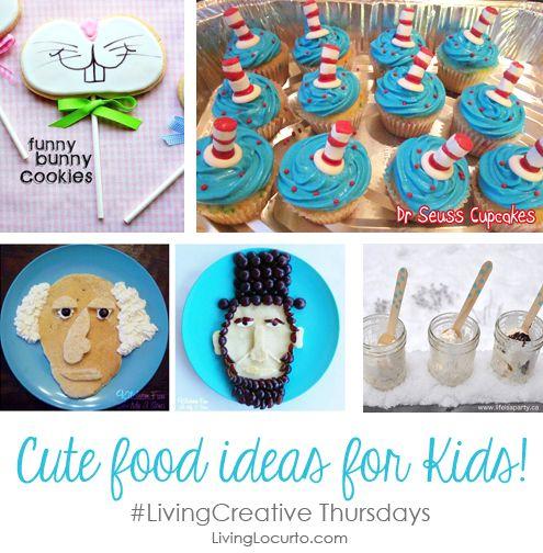 Cute Fun Food Ideas for Kids #LivingCreative