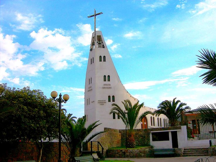 Iglesia de Huasco, Región de Atacama - Chile.