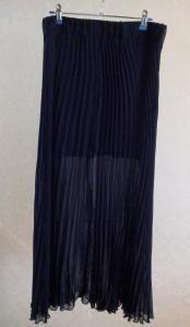 Плиссированные брюки перешить в юбку