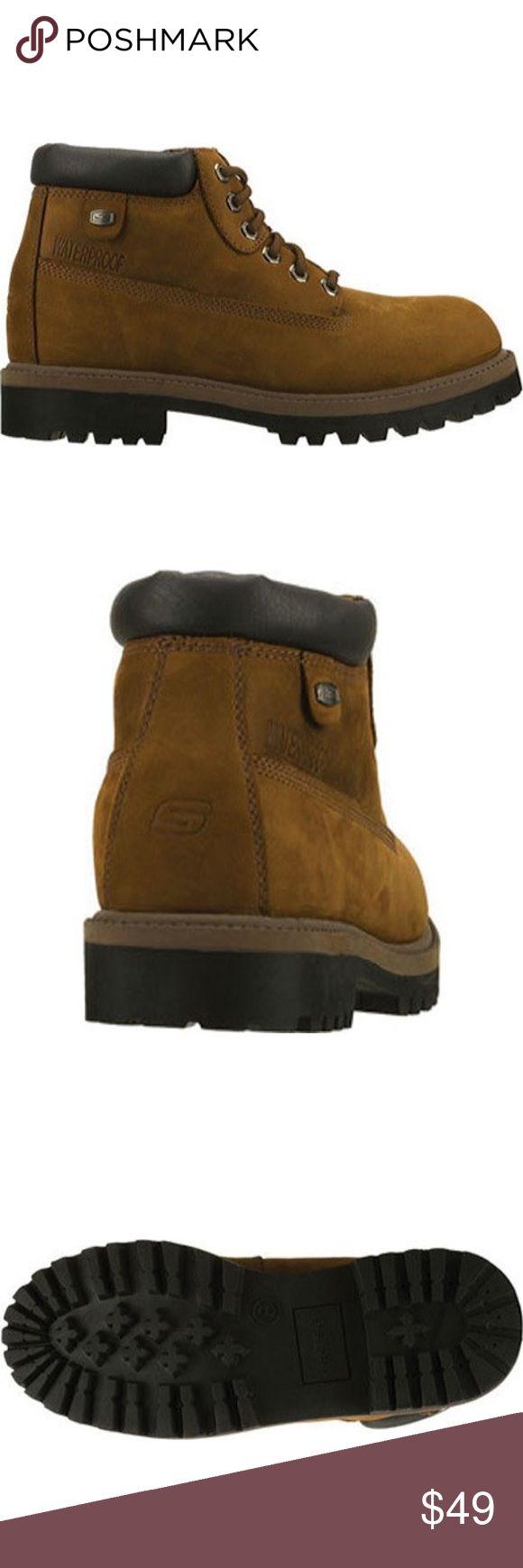 Skechers men waterproof boot Skechers men's boot 4243 still great condition waterproof super durable Skechers Shoes Boots