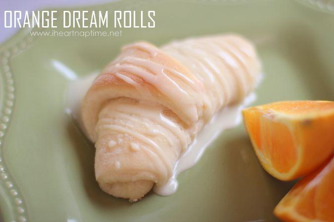 super soft & sweet orange rolls