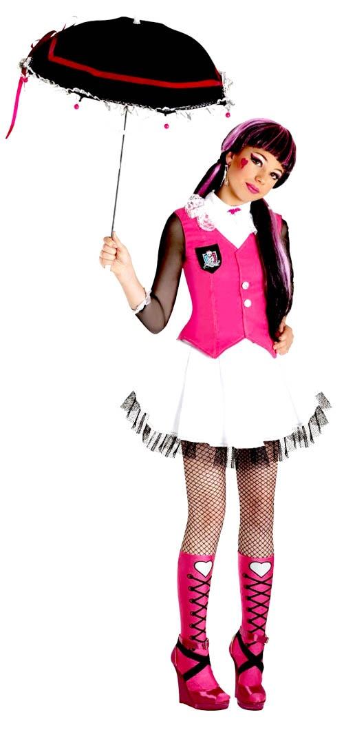 déguisement Monster High Draculaura fille : trop la classsssssse :)