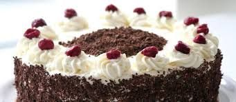 Znalezione obrazy dla zapytania torty czekoladowe z wiśniami