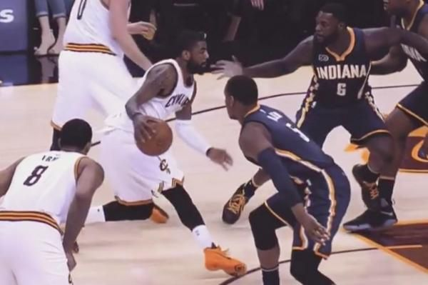 Kyrie Irving victimized Lance Stephenson with a killer crossover, leading the Cleveland Cavaliers to a Game 2 playoff victory over the…