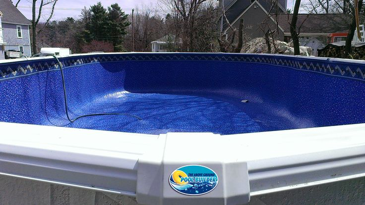 This was a used 15x30 built in lowell with a brand new for Pool design ventura