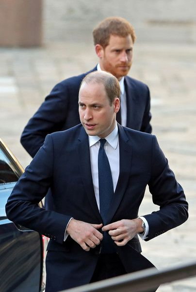 Prince William Photos - Britain's Prince William, Duke of Cambridge, and Britain's Prince Harry arrive to attend the Grenfell Tower National Memorial Service at St Paul's Cathedral in London on December 14, 2017, to mark the six month anniversary of the Grenfell Tower fire. .Britain marked on December 14, 2017, the six-month anniversary of London's Grenfell Tower fire that killed 71 people, with most survivors still awaiting permanent housing and sagging confidence in a public probe into the…
