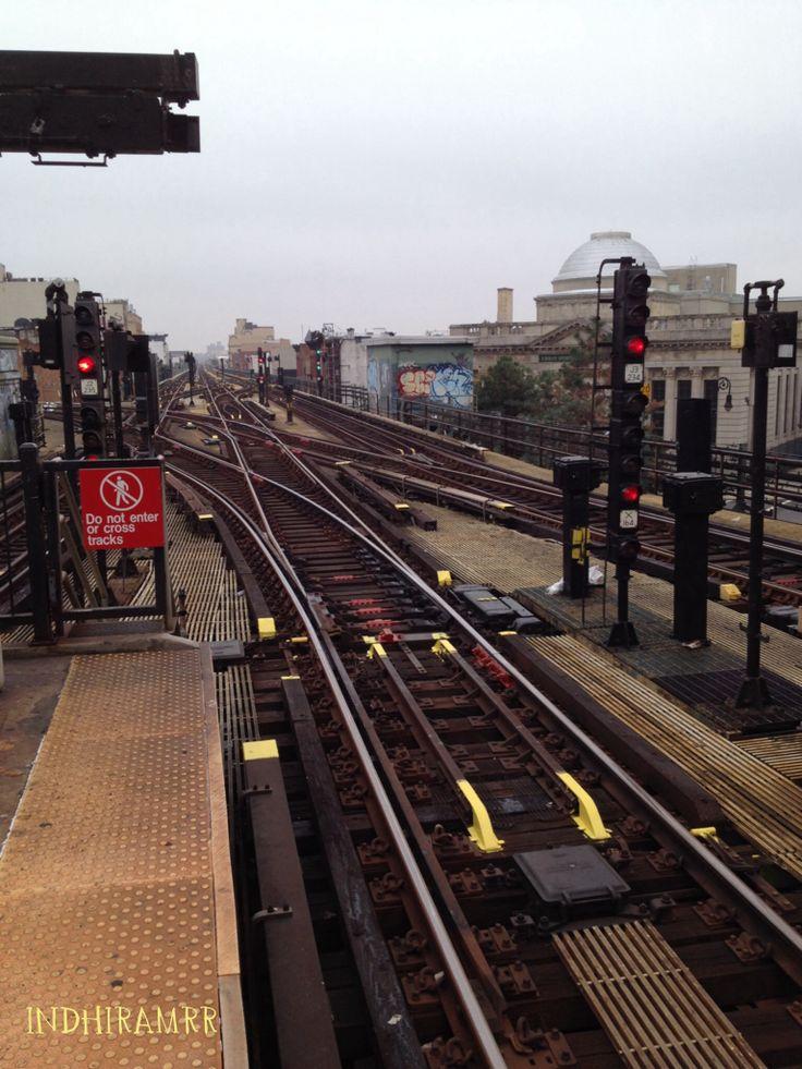 Así nos recibió Brooklyn... Con miles de caminos para escoger!