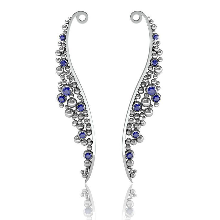 Are you crazy for unique earring? Check out this.