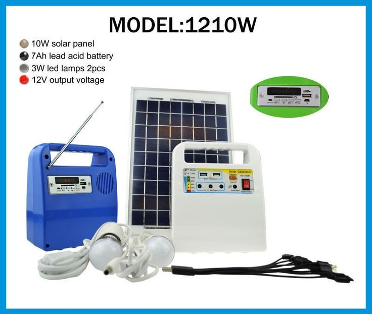 14 best 1210W - 10W SOLAR HOME LIGHTING SYSTEM images on Pinterest ...