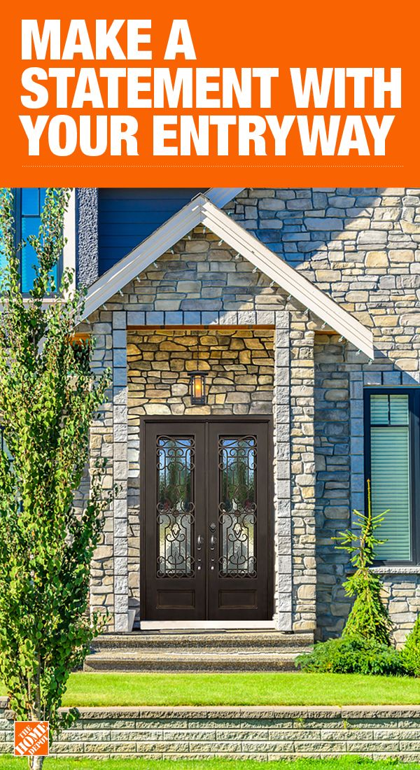 The Home Depot Has Everything You Need For Your Home Improvement Projects Click To Learn More Double Doors Exterior Exterior Entry Doors Exterior Front Doors