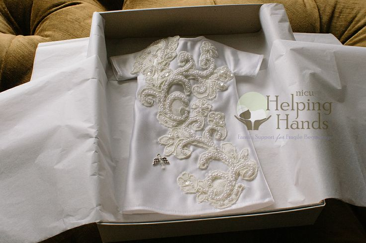 NICU Helping Hands' Angel Gown Program  http://www.nicuhelpinghands.org/lend-a-helping-hand/angel-gowns/
