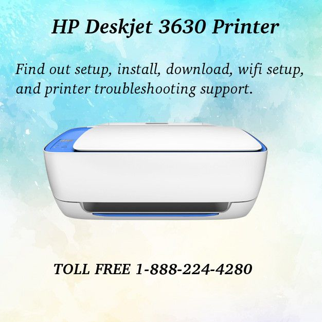 123 Hp Com Dj3630 Easy Setup For 123 Hp Dj3630 Install Deskjet Printer Printer Installation