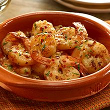 HAPPY CINCO DE MAYO ... Spanish Garlic Shrimp Recipe ~ INGREDIENTS: Extra Virgin Olive Oil - Medium shrimp - Adobo with Pepper - Lemon Juice - Garlic - Paprika - Chili Crushed Red Pepper - Fresh parsley