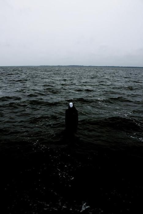 .Water, Seals, Creepy, The Ocean, Dark, Black White, Black Sabbath, The Waves, The Sea