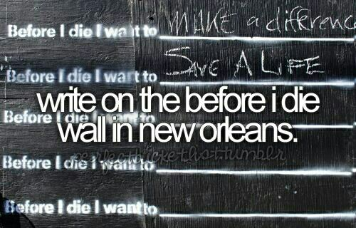 not sure if we could get to New Orleans... but man this is so powerful