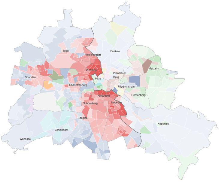 Gebürtige Berliner und Zugezogene - Wer kam, wer ging, wer heute hier wohnt - Berlin - 25 Jahre Mauerfall - Interaktiv - Berliner Morgenpost