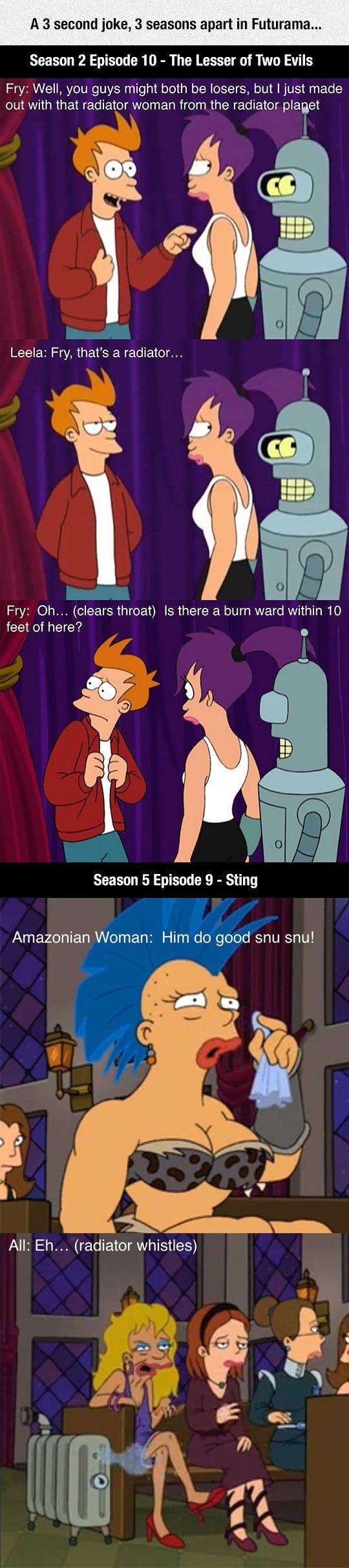 Awesome Futurama Writers Were Really Good