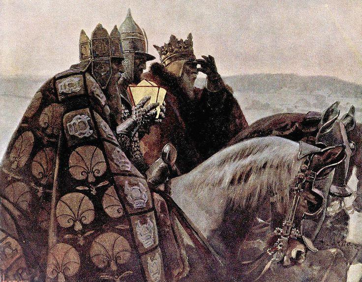"Piotr Stachiewicz (Polish, 1858–1938), ""Three Holy Kings"" | Flickr - Photo Sharing!"
