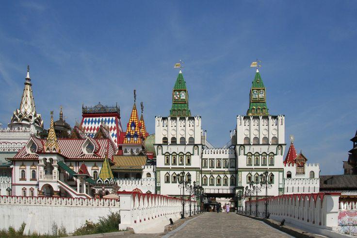 Izmailovo Kremlin.  Moscow. Russia