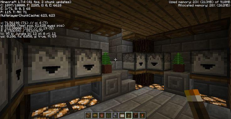 2014 January Jungle LizC864 Minecraft: Dropper room