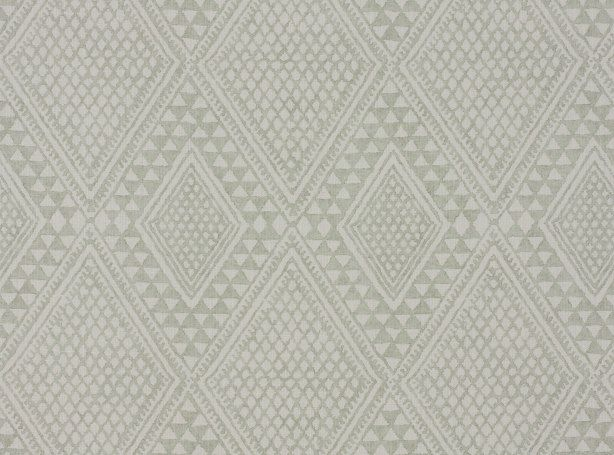 Kasai Celadon | Artisan Prints | Mark Alexander | Soft Natural Fabrics, Wallcoverings