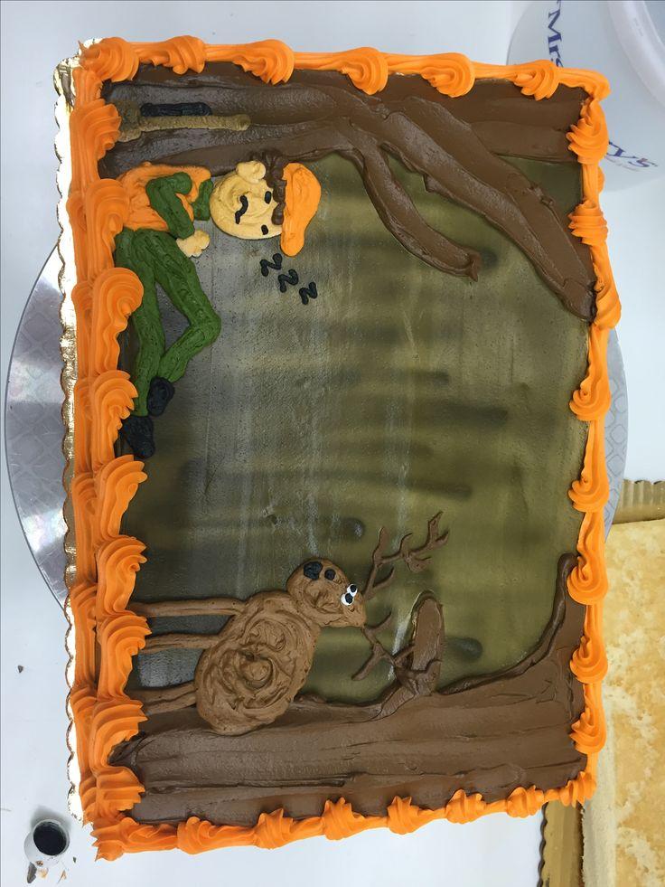 Deer hunting cake # kkscakes