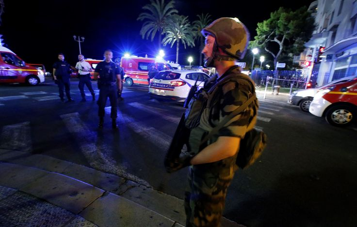 At least 30 people were killed and 100 injured in the French Riviera city of Nice late on Thursday when a truck plowed into crowds watching a fireworks display on France's Bastille Day national holiday in a criminal attack, a local official said.