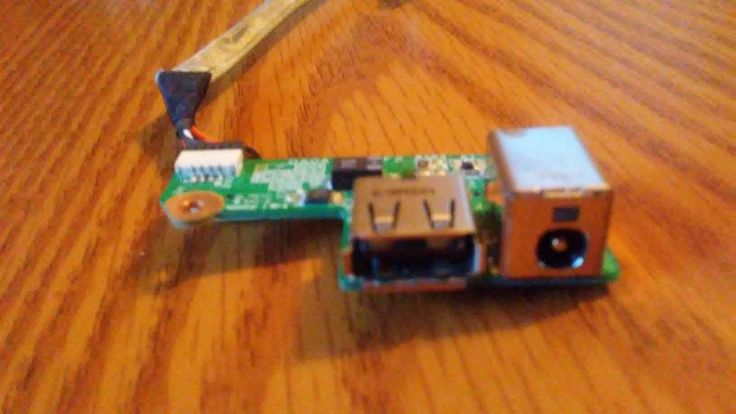 Genuine HP Pavilion DV6700 Series DC-IN USB Port Board w/Cable DDA0AT8TB8F2 #HP