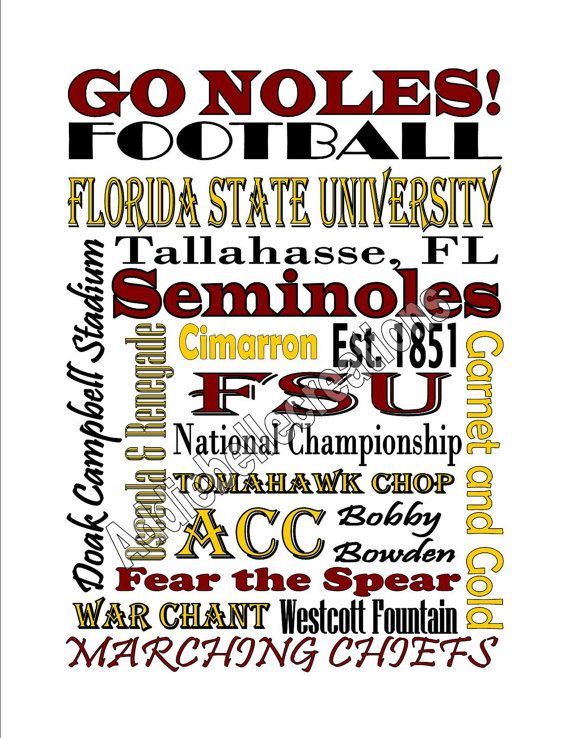 50 best fsu woodburn ideas images on pinterest florida state diy printable florida state university by addiebellecreations 600 voltagebd Image collections